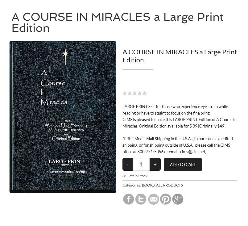 JCIM Large Print Book