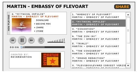Martin-Embassy of Flevoart