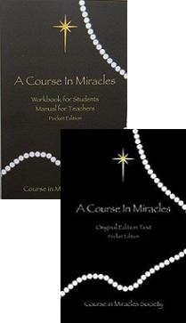A COURSE IN MIRACLES a Pocket Sized edition-Complete Set